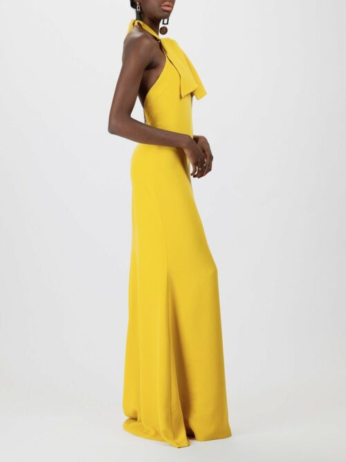 Open Back Ginna Gown Back Claudette