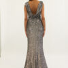 """""""Sequined gown for evening cocktail"""""""