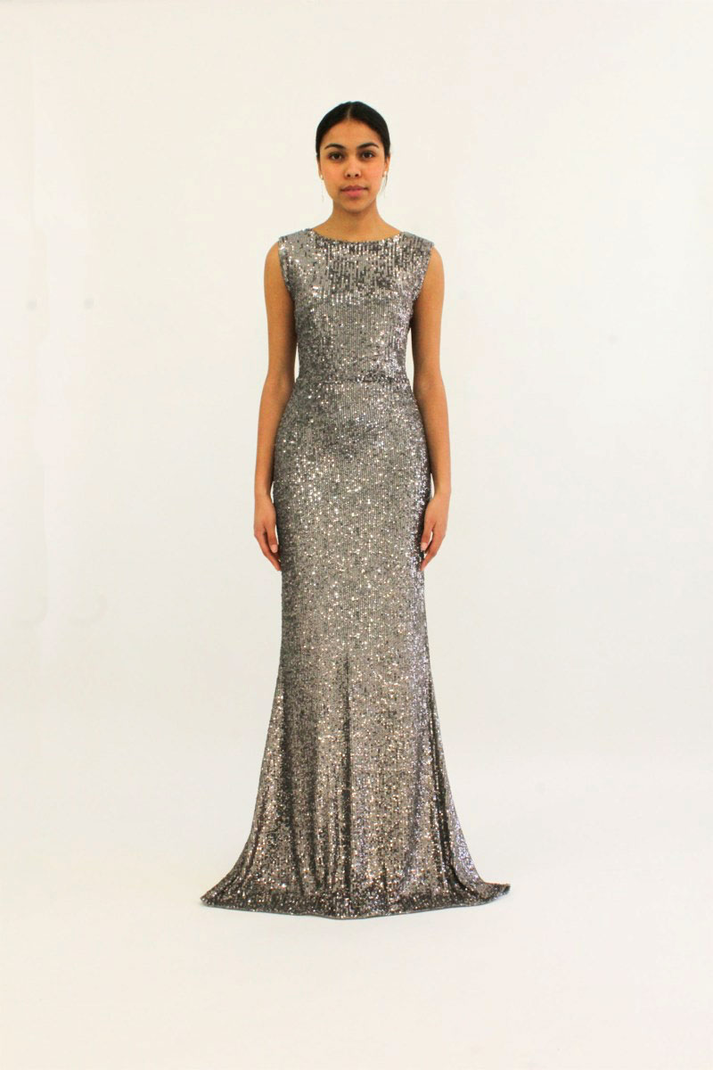 """""""Silver sequence dress""""""""robe sequence argent"""""""