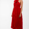 """Halter back Maxi dress"""