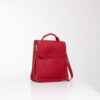 """Red leather cross bag"""