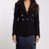 Wool Crepe Jacket