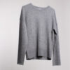 Cashmere Blend Grey Sweater