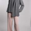 Cashmere Blend Grey Sweater